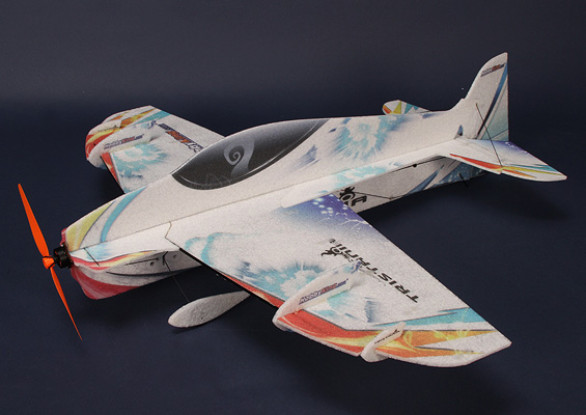 HobbyKing® ™ Tristania-EVP High-performance 3D Airplane w / Motor