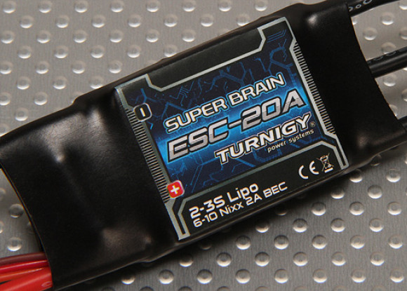 Turnigy Super Brain 20A Brushless ESC