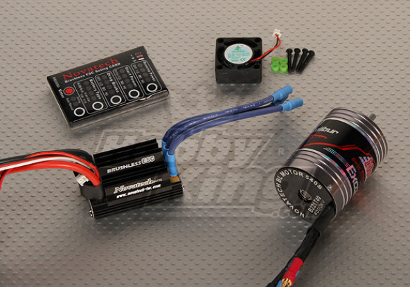 Borstelloze Car Power System 4000kv / 45A