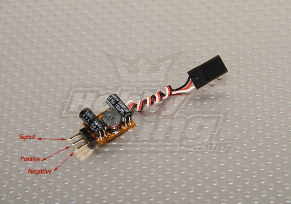 Turnigy Voltage Booster voor Servo & Rx (1S 1A 5V)