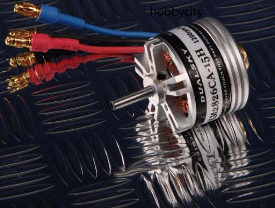 Dualsky XMotor Hollow Shaft XM2826-15H