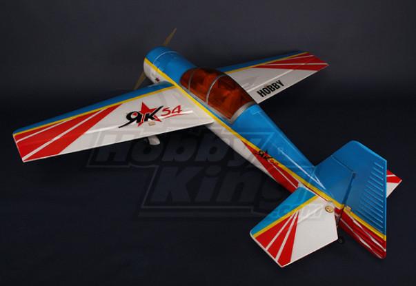 YAK 54 1.4m EPO Kit w / borstelloze motor / Servo's
