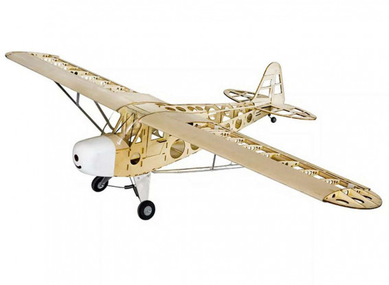 Piper-J-3-Cub-Balsa-Wood-RC-Laser-Cut-Airplane-Kit-1800mm-70-for-electric-or-I-C-Plane-9099000089-0-1