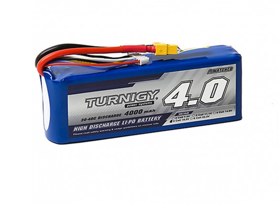 Turnigy-4000mAh-5S-30C-Lipo-Pack-w-XT-60-Battery-9067000269