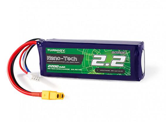 Turnigy-Nano-Tech-2200mAh-3S-25C-Lipo-Pack-w-XT60-Battery-9210000271-0