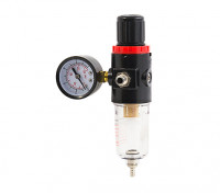 "DU-602 In-Line Filter with Pressure Regulator and Moisture Trap 1/4""-1/8""BSP 1"