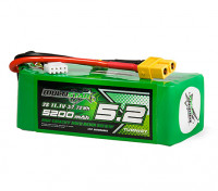 MultiStar High Capacity 5200mAh 3S 12C Multi-Rotor Lipo Pack w/XT60