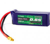 Turnigy Nano-Tech 650mAh 4S 70C Lipo Pack w/XT30 (HR Technology)