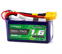 Turnigy Nano-Tech 1600mAh 4S 70C Lipo Pack w/XT60 (HR Technology)