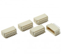 JST-SH 6Pin Socket (Surface Mount) (5 stuks)