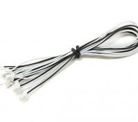 JST-SH 3Pin stekker met 200mm Wire Vlecht (5 stuks)