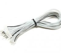 JST-SH 8Pin stekker met 200mm Wire Vlecht (5 stuks)
