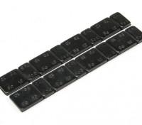 Iron Balance Gewichten 60g (2 strips per zak)