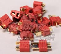 Nylon T-Connectors Man (10st / Bag)