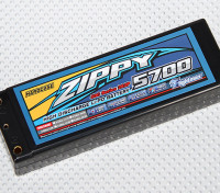 ZIPPY 5700mah 50C 2S2P Hardcase Pack