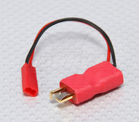 T-Connector - JST Man in-line stroomadapter