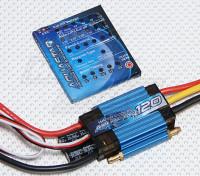 Turnigy AquaStar 120A Watergekoelde ESC w / Card Programming