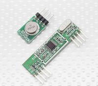 Superheterodyne 3400 Wireless Receiver Module en 315RF draadloze transmitter