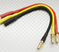 4mm Man / Vrouw Bullet borstelloze motor Extension Lead 150mm