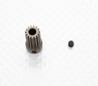 """""""Hard One"""" 0.6M Geharde Helicopter Pinion Gear 5mm Shaft - 15T"""