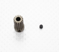 """""""Hard One"""" 0.6M Geharde Helicopter Pinion Gear 5mm Shaft - 16T"""