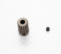 """""""Hard One"""" 0.6M Geharde Helicopter Pinion Gear 5mm Shaft - 17T"""