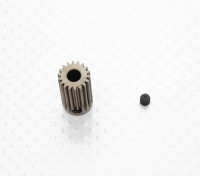 """""""Hard One"""" 0.6M Geharde Helicopter Pinion Gear 5mm Shaft - 18T"""