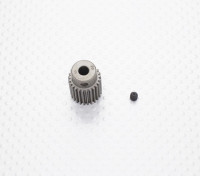 """""""Hard One"""" 0.6M Geharde Helicopter Pinion Gear 5mm Shaft - 25T"""