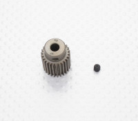 """""""Hard One"""" 0.6M Geharde Helicopter Pinion Gear 5mm Shaft - 26T"""