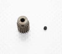 """""""Hard One"""" 0,7M Geharde Helicopter Pinion Gear 5mm Shaft - 19T"""