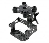 GoPro Carbon Fiber borstelloze 2 Axis Gimbal Kit met Damping