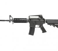 WE KATANA M4 RIS AEG (Zwart, M90 Blue cilinder)