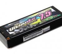 Turnigy nano-tech Ultimate 7500mah 90C 2S2P Pack Hardcase Lipo (ROAR & BRCA Goedgekeurd)