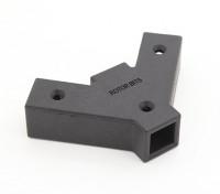 RotorBits 45 graden Y Connector 2-zijdig (zwart)
