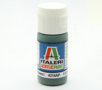 Italeri Acrylverf - Flat Medium Green 1