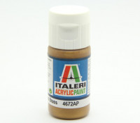 Italeri Acrylverf - Metal Gloss Messing