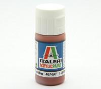 Italeri Acrylverf - Flat Leather