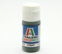 Italeri Acrylverf - Schwarzgrun RLM 70