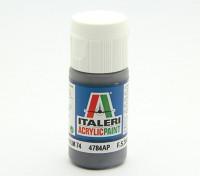 Italeri Acrylverf - Graugrün RLM74