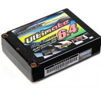 Turnigy nano-tech Ultimate 6400mAh 2S2P 90C Hardcase Lipo-plein Pack