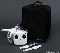 MultiStar Deluxe multirotor Travel Backpack Voor DJI Phantom en anderen