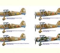 Italeri 1/48 Schaal Fiat CR.42 Falco Aces plastic model kit