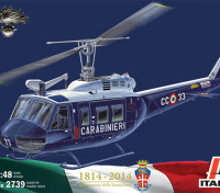 Italeri 1/48 Schaal AB-205 Carabinieri plastic model kit