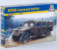 Italeri 1/35 Schaal US M998 Command Vehicle plastic model kit