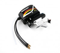 CNC Aluminum Outboard Style Boot Drive w / 2630kv Motor (Suit HobbyKing H2O Style 650EP)