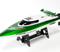 FT009 High Speed V-Hull Racing Boot 460mm - Green (RTR)