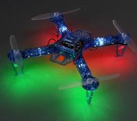 HobbyKing FPV250 V4 Blue Ghost Edition LED Night Flyer FPV Drone (Blauw) (Kit)