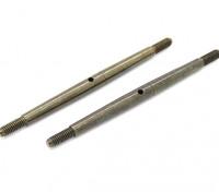 TrackStar 1/8 Spring Steel Spanschroef M4x80 (2 stuks)