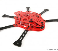 HobbyKing Thorax Limited RED Edition Mini FPV Drone Frame Kit (rood)