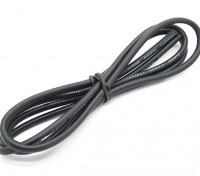 Turnigy Hoge kwaliteit 14AWG Silicone Wire 1m (zwart)